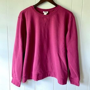 Everlast Purple Pink Cotton Sweatshirt XL